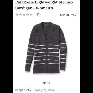 🌲Patagonia lightweight merino cardigan🌲